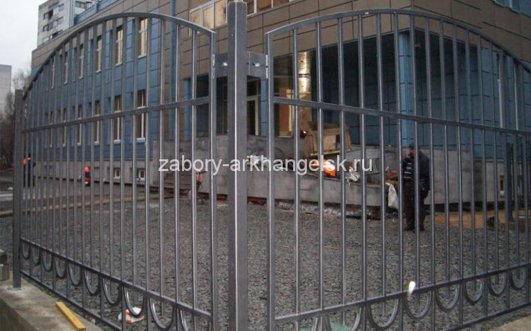 забор из профтрубы в Архангельске